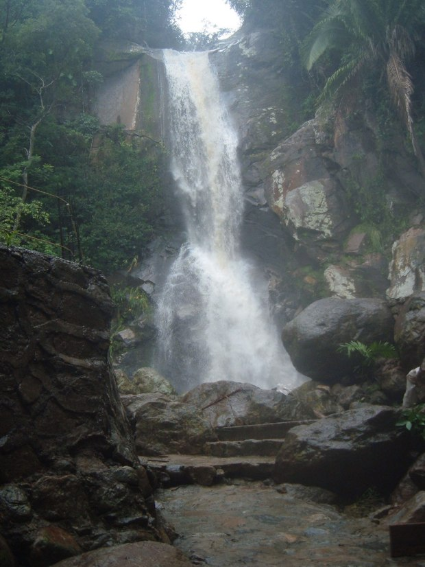 yelapa waterfall after the rains