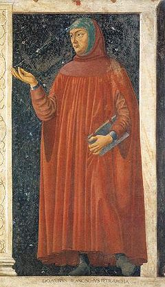 Francesco Petrarch (1304-1374) was a poet of Florence, considered the founder of Renaissance Christian humanism.