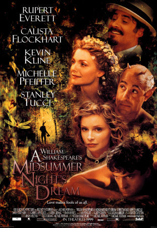 Michael Hoffman's Midsummer Night's Dream poster