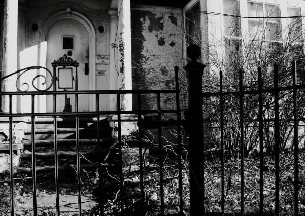 Abanonded Door, from the Door Series by La La