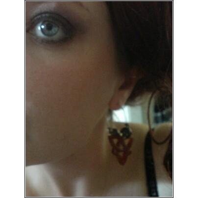 Girl with Faern earring, self-portrait, ca. 2007