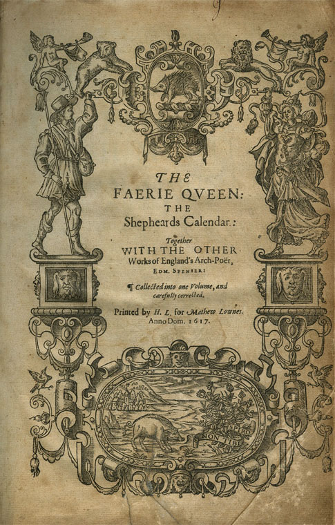 The Faerie Queen by Edmund Spenser was first published in 1590
